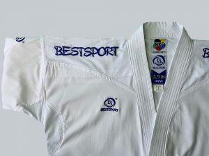BestSport UK WKF IRIMI Gi for Karate 1 in Blue