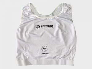 WKF Female Chest-Guard Front